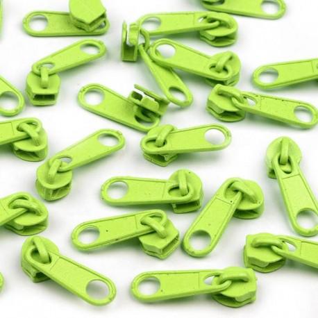 Zipper für 3mm Schiene neon lime