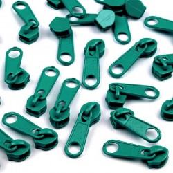 Zipper für 3mm Schiene türkis