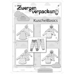 Zwergenverpackung Kuschelbasics Papierschnittmuster