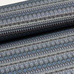 Modal Sweat Ikatarina by JoliJou Stripes grau