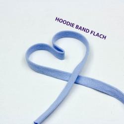 Baumwollkordel flach 12mm hellblau