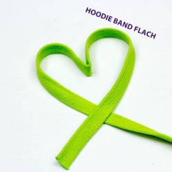 Baumwollkordel flach 12mm lime