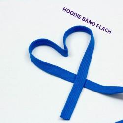 Baumwollkordel flach 12mm blau