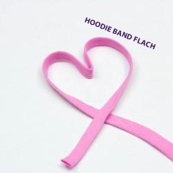 Baumwollkordel flach 12mm rosa
