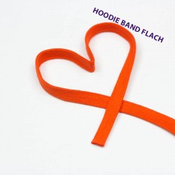 Baumwollkordel flach 12mm orange