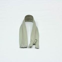 Reißverschluss teilbar 35cm hellgrau