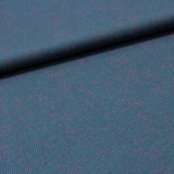 Stoff Wolljersey Tid Nopes dunkelblau