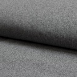 Softshell Stoff Shelly uni meliert grau elastisch