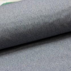 Softshell Stoff Shelly uni meliert jeansblau elastisch