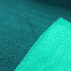 Polar Fleece Double Face petrol mint