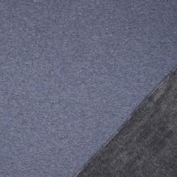 Alpenfleece Heidi meliert jeansblau dunkelgrau