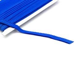 elastisches Einfassband Schlüpferband 12mm breit blau