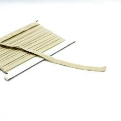 elastisches Einfassband Schlüpferband 12mm breit sand