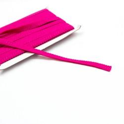 elastisches Einfassband Schlüpferband 12mm breit pink