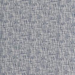 Stoff Baumwolljersey Vera Criss Cross naturweiß jeansblau