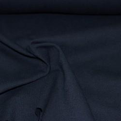 Bündchen Stoff Anni dunkelblau