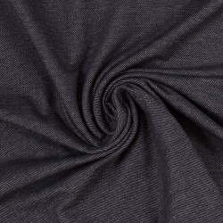 Stoff Denimjersey Austin jeansoptik nachtblau meliert