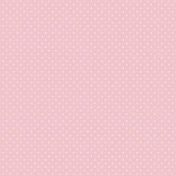 Stoff Baumwolle kleine Punte rosa