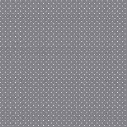 Stoff Baumwolle kleine Punte grau