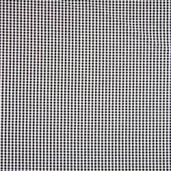 Seersucker Karo 3mm schwarz weiß