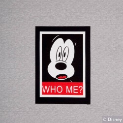 Jersey Stoff Mickey Mouse Who me PANEL