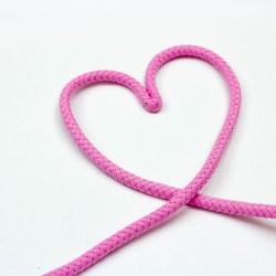 Baumwollkordel doppelgedreht 8mm rosa