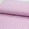Baumwolljersey Herzen Fächer rosa