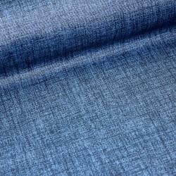 Stoff Baumwolle beschichtet Bruno dunkelblau