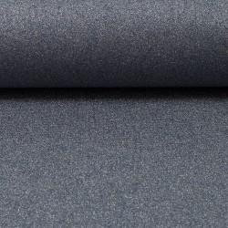 Stoff Baumwolle beschichtet Mikesh metallic rauchblau