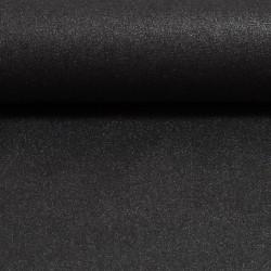 Stoff Baumwolle beschichtet Mikesh metallic anthrazit
