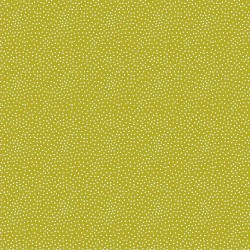 Stoff Frech Terry TINY DOTS lime