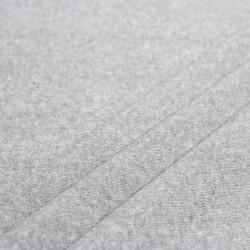 Stoff Frottee beschichtet grau