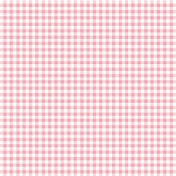 Stoff Baumwolle Popeline Karo 2,7mm rosa