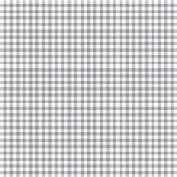 Stoff Baumwolle Popeline Karo 2,7mm grau