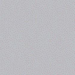 Stoff Baumwolle Popeline Charming Dots grau