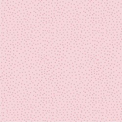 Stoff Baumwolle Popeline Charming Dots rosa