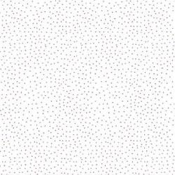 Stoff Baumwolle Popeline Charming Dots weiß