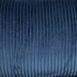Streifen Fleece dunkelblau