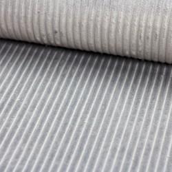 Streifen Fleece grau