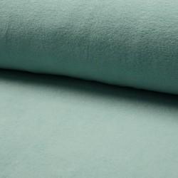 Baumwollfleece dusty mint
