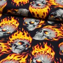 Baumwollstoff Nicoles Prints Hotheads Flammen Alexander Henry