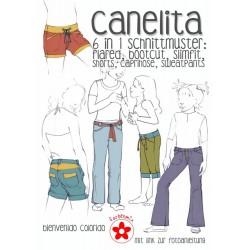 Canelita 6 in 1 Hosenschnitt Papierschnittmuster