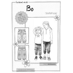 Bo Hosenschnitt Papierschnittmuster