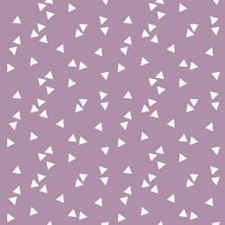 Stoff Baumwolle Triangle flieder