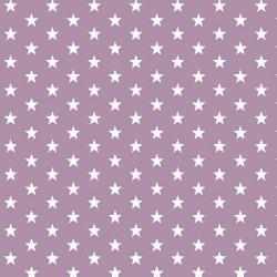 Stoff Baumwolle kleine Sterne 1cm flieder