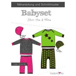 PAPIERSCHNITTMUSTER BABYSET