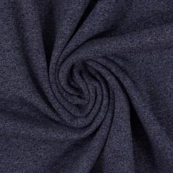 Bündchen Viola blau meliert