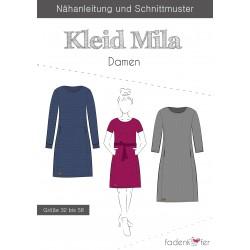 PAPIERSCHNITTMUSTER Kleid Mila ERWACHSENE