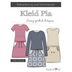 PAPIERSCHNITTMUSTER Kleid Pia ERWACHSENE