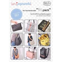 Schnittmuster Papierschnittmuster Leni Pepunkt BAG.pack